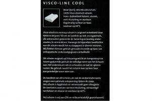 Elbatex Bedmode: Diamant Visco Line Cool hoofdkussen